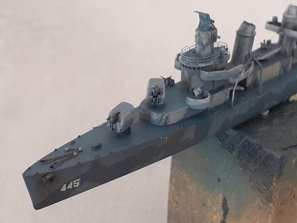 Premier rôle à Guadalcanal - USS Fletcher DD-445 (Tamiya 1/700) - Page 4 20202767