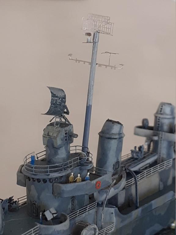 Premier rôle à Guadalcanal - USS Fletcher DD-445 (Tamiya 1/700) - Page 5 20202968