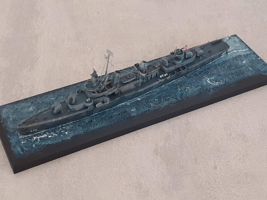 Premier rôle à Guadalcanal - USS Fletcher DD-445 (Tamiya 1/700) - Page 6 20203269