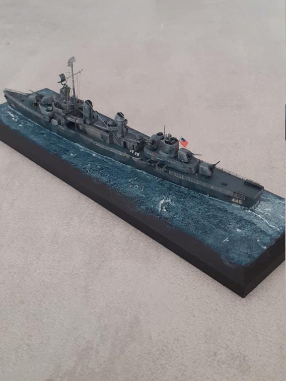 Premier rôle à Guadalcanal - USS Fletcher DD-445 (Tamiya 1/700) - Page 6 20203270