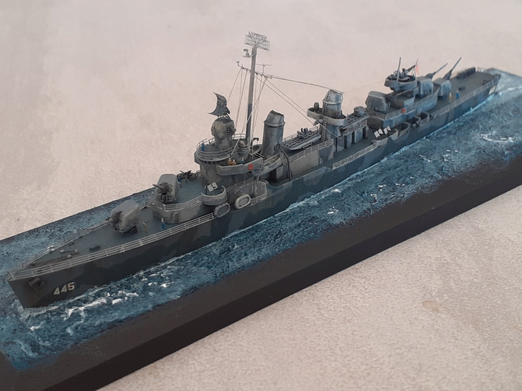 Premier rôle à Guadalcanal - USS Fletcher DD-445 (Tamiya 1/700) - Page 6 20203271