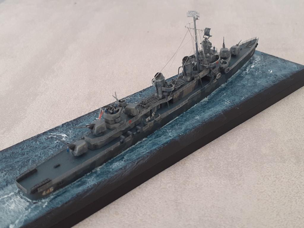 Premier rôle à Guadalcanal - USS Fletcher DD-445 (Tamiya 1/700) - Page 6 20203279