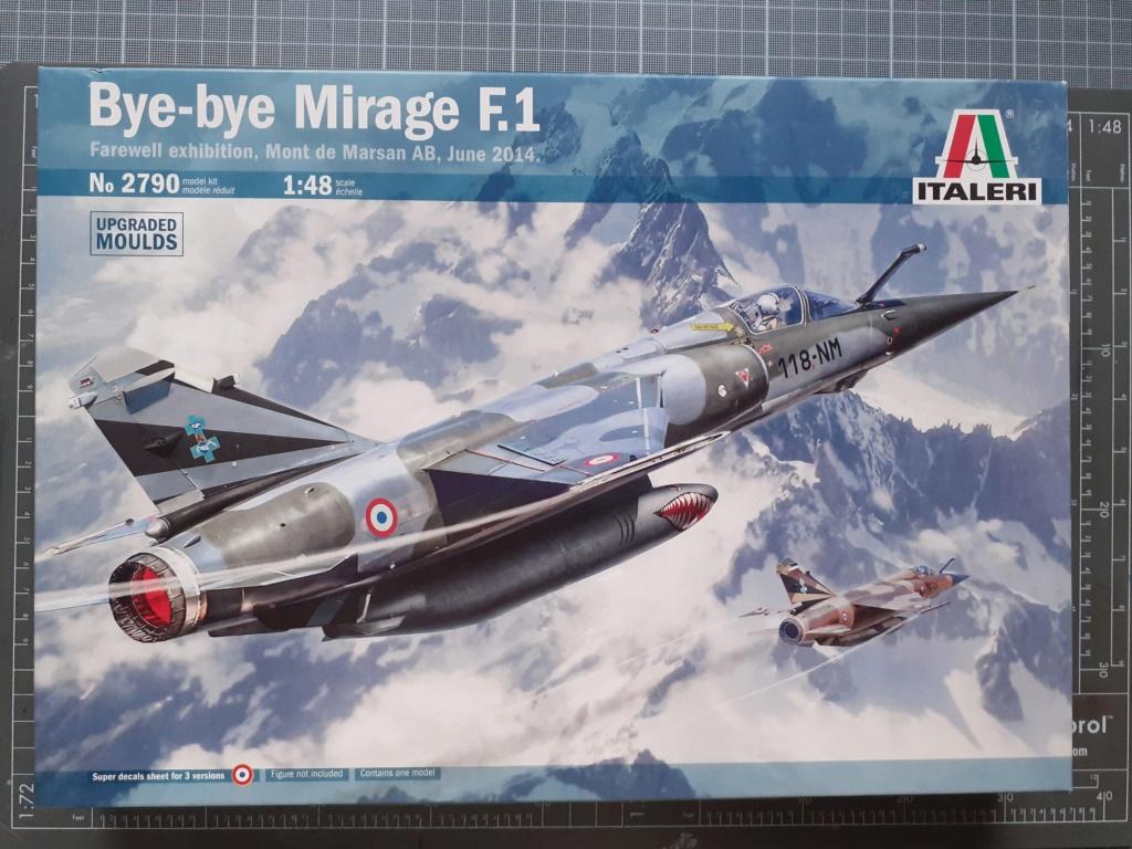 Opération Serval - Mirage F1 CR (Italeri - 1/48) 20203360
