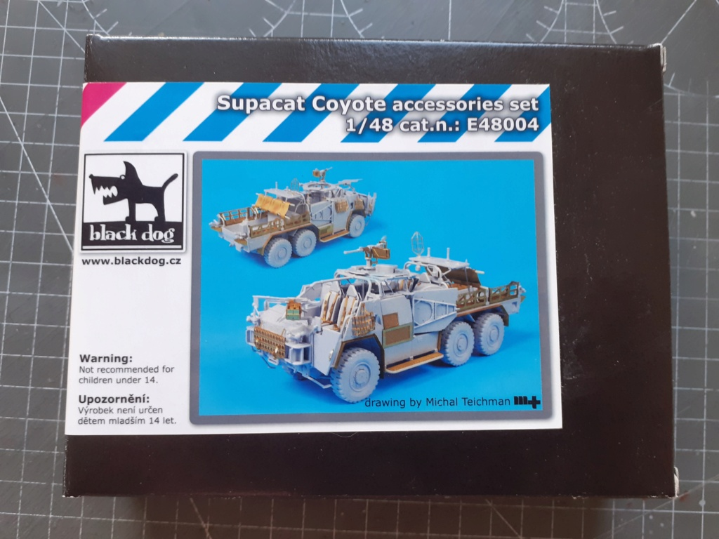 Opération Herrick - Tactical Support Vehicle - Light Coyote (Airfix 1/48) 20203688