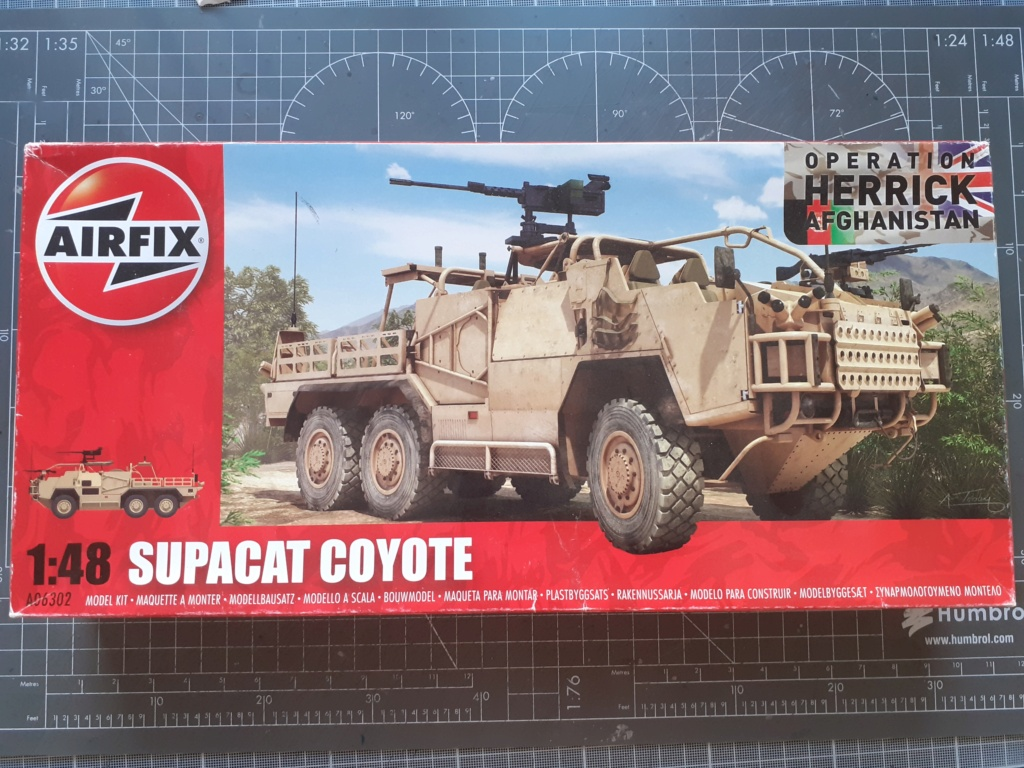 Opération Herrick - Tactical Support Vehicle - Light Coyote (Airfix 1/48) 20203689