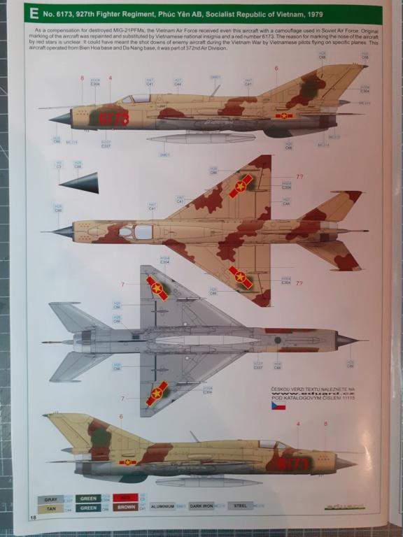 Un Russe en Asie (MiG-21 PFM - Eduard 1/48) 20210111