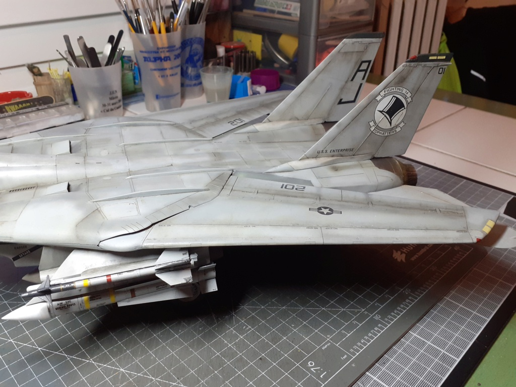 Chapeau haut de forme et griffes d'acier (F-14A Tomcat - Tamiya 1/32) - Page 14 20210355