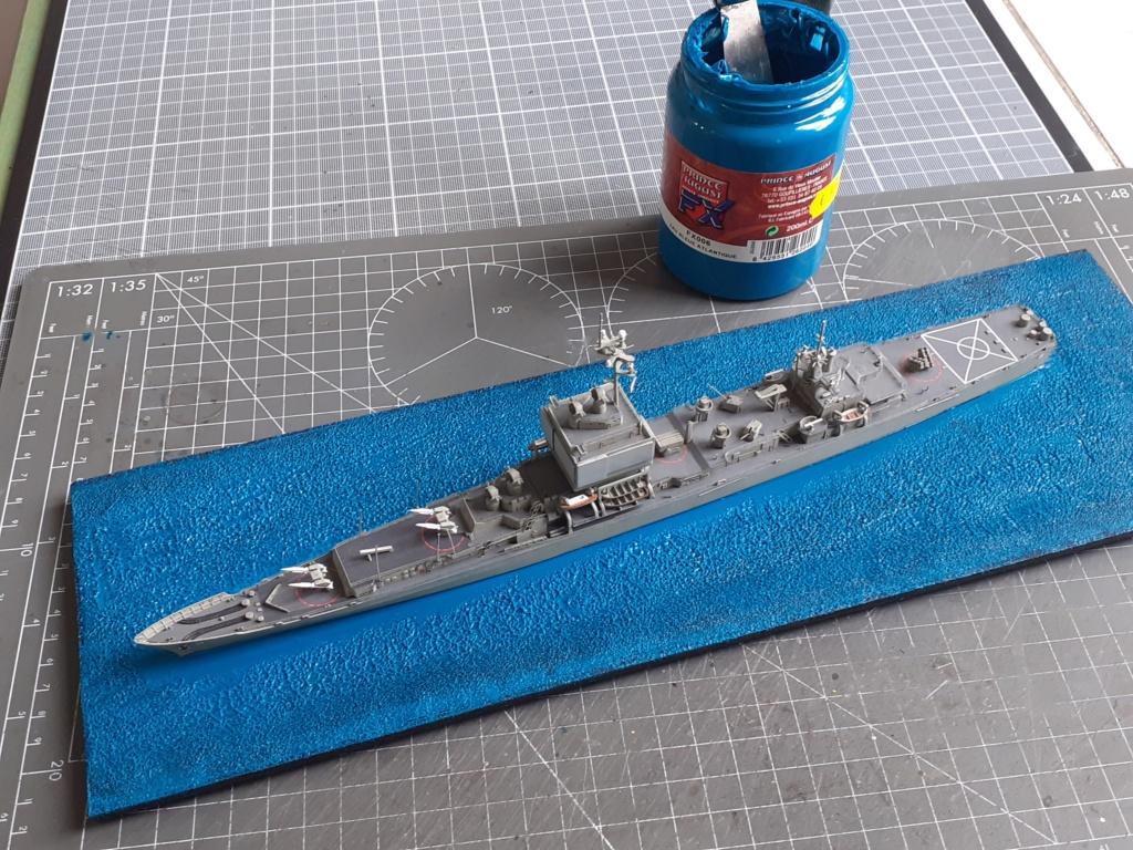 USS Long Beach - CGN-9 (Dragon 1/700°) 20211449