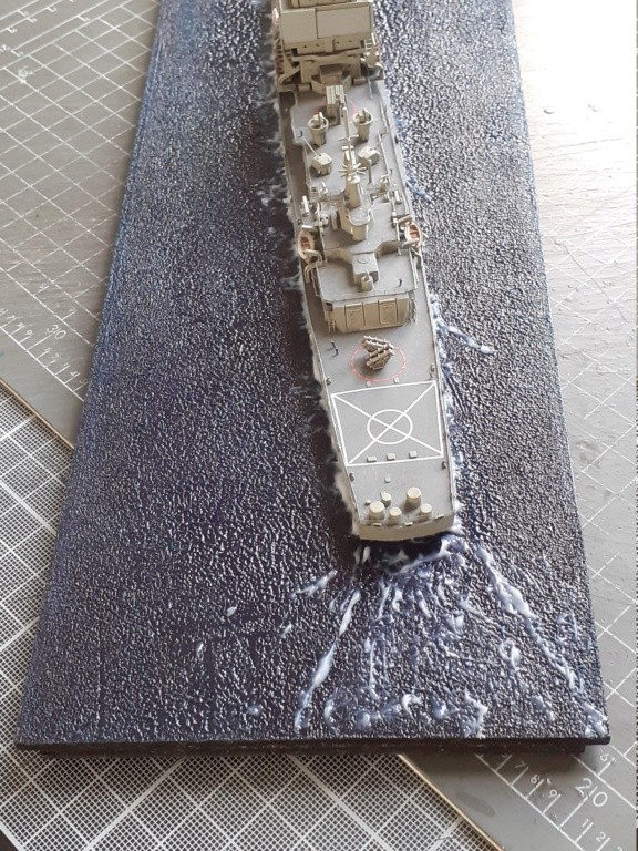 USS Long Beach - CGN-9 (Dragon 1/700°) 20211458