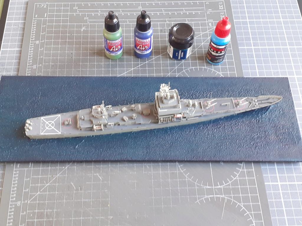 USS Long Beach - CGN-9 (Dragon 1/700°) 20211472