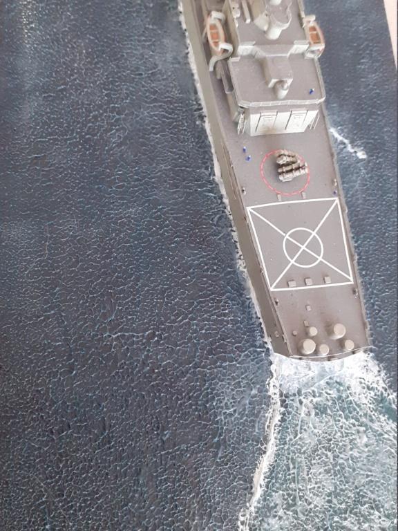 USS Long Beach - CGN-9 (Dragon 1/700°) 20211476