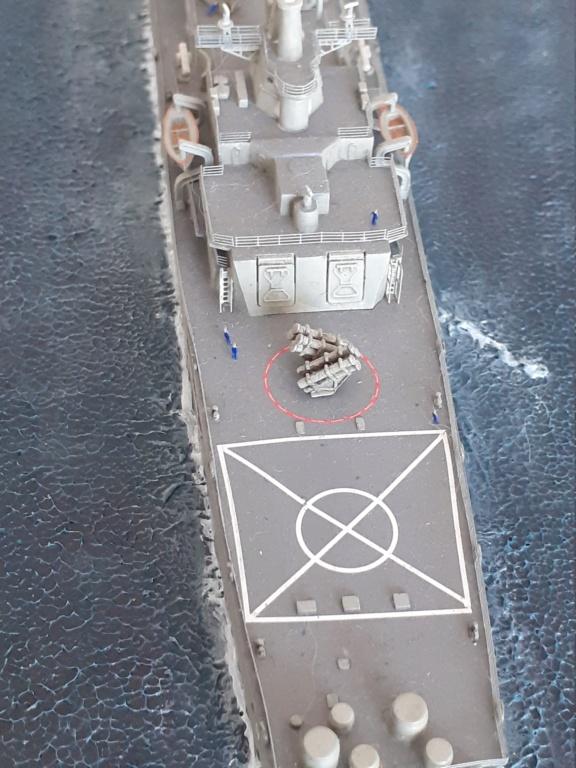 USS Long Beach - CGN-9 (Dragon 1/700°) 20211485