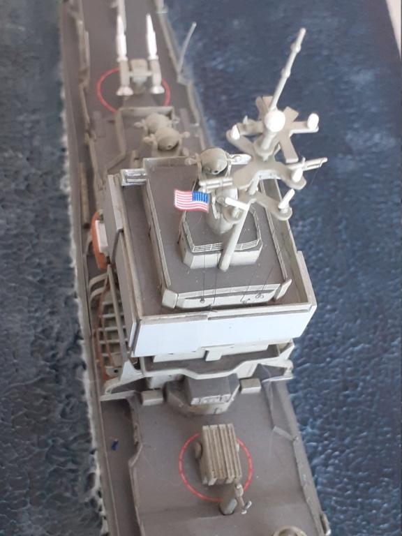 USS Long Beach - CGN-9 (Dragon 1/700°) 20211487