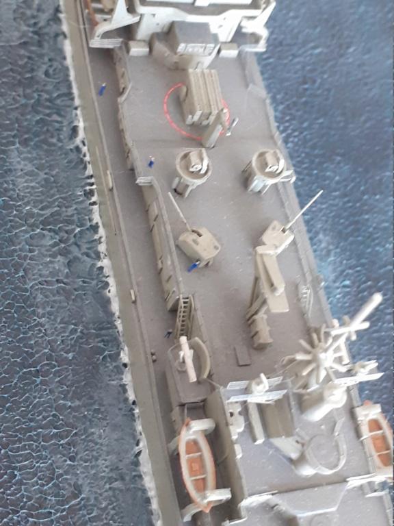 USS Long Beach - CGN-9 (Dragon 1/700°) 20211489
