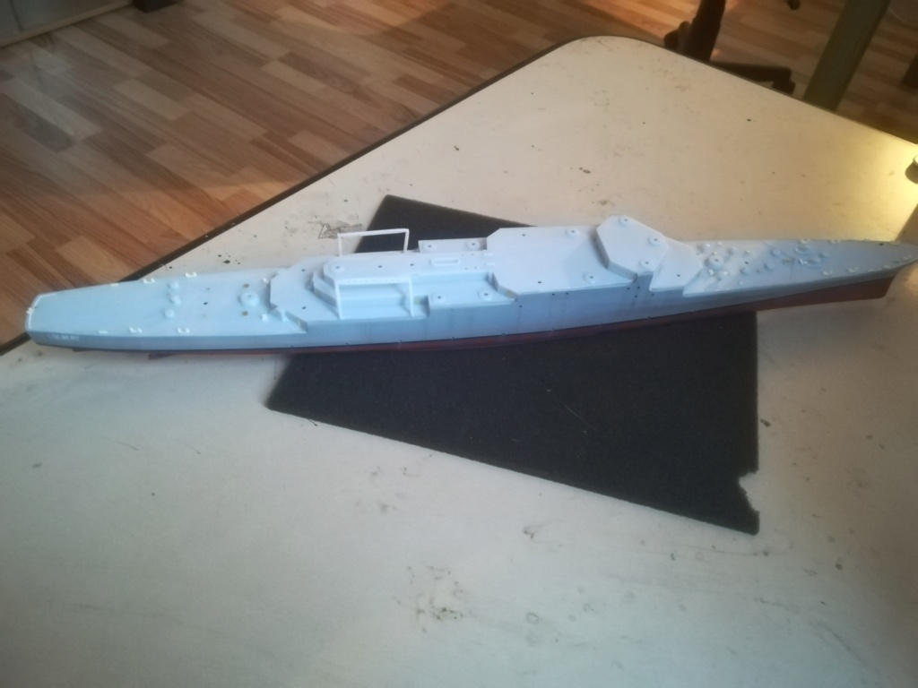 Le dernier croiseur - Croiseur Antiaérien Colbert C 611 - Heller 1/400 - Page 6 Img_2448