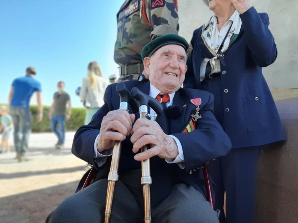 Jour J, Le 6 juin 1944, il a 77 ans Leon-g10