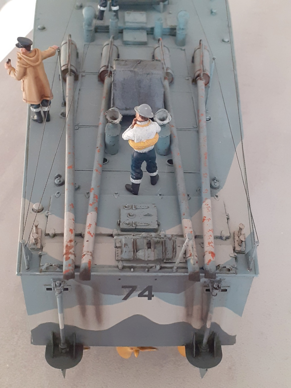 "Opération ""Chariot"" - Saint Nazaire 28 mars 1942 (Vosper MTB 74 - Italeri 1/35) Opzora21"