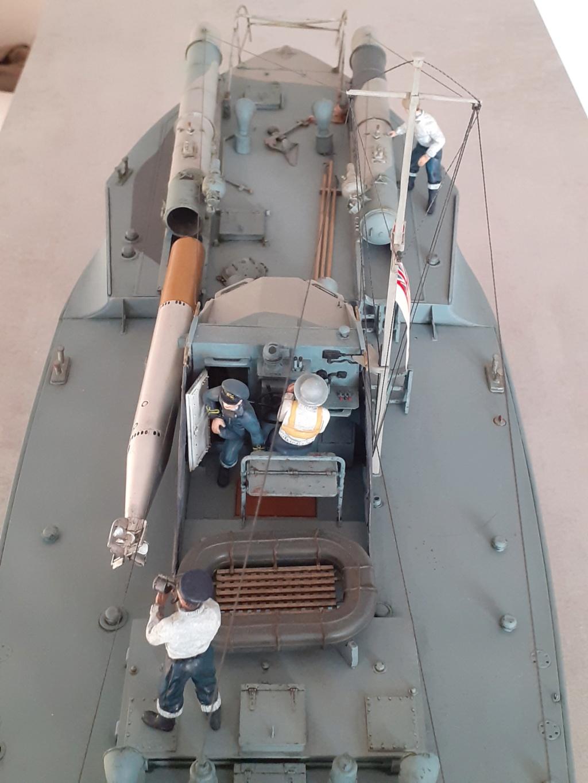 "Opération ""Chariot"" - Saint Nazaire 28 mars 1942 (Vosper MTB 74 - Italeri 1/35) Opzora22"