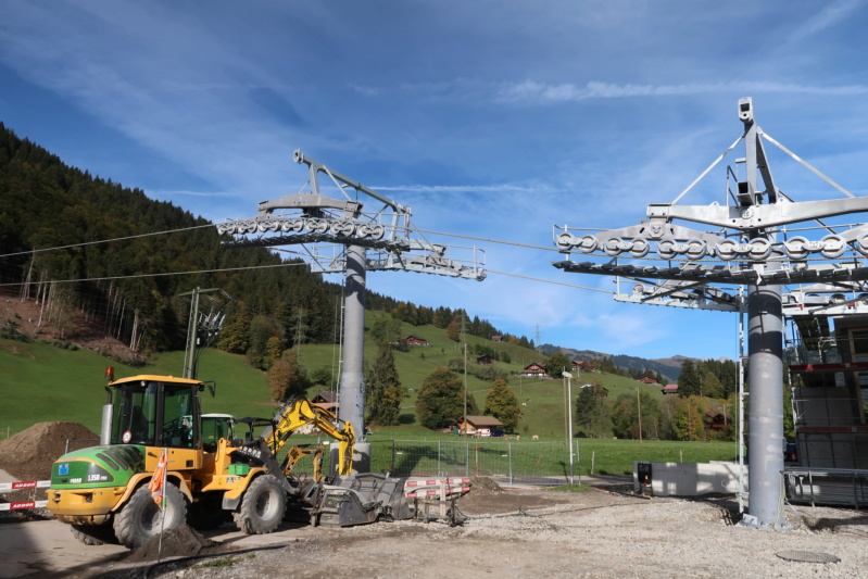 Construction télécabine 10 places Eggli (Gstaad BE) Img_0611