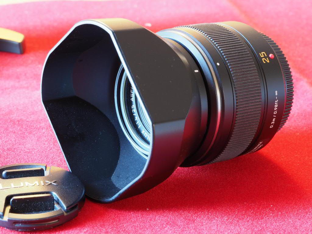 [VENDU] Objectif Lumix DG Summilux Leica ASF 25mm 1.4 Pem13021