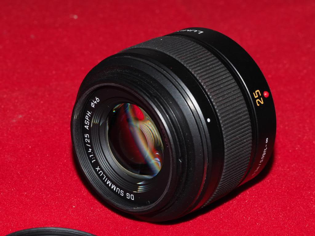 [VENDU] Objectif Lumix DG Summilux Leica ASF 25mm 1.4 Pem13023