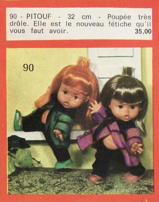 Poupée Pifou 1968 1968-210