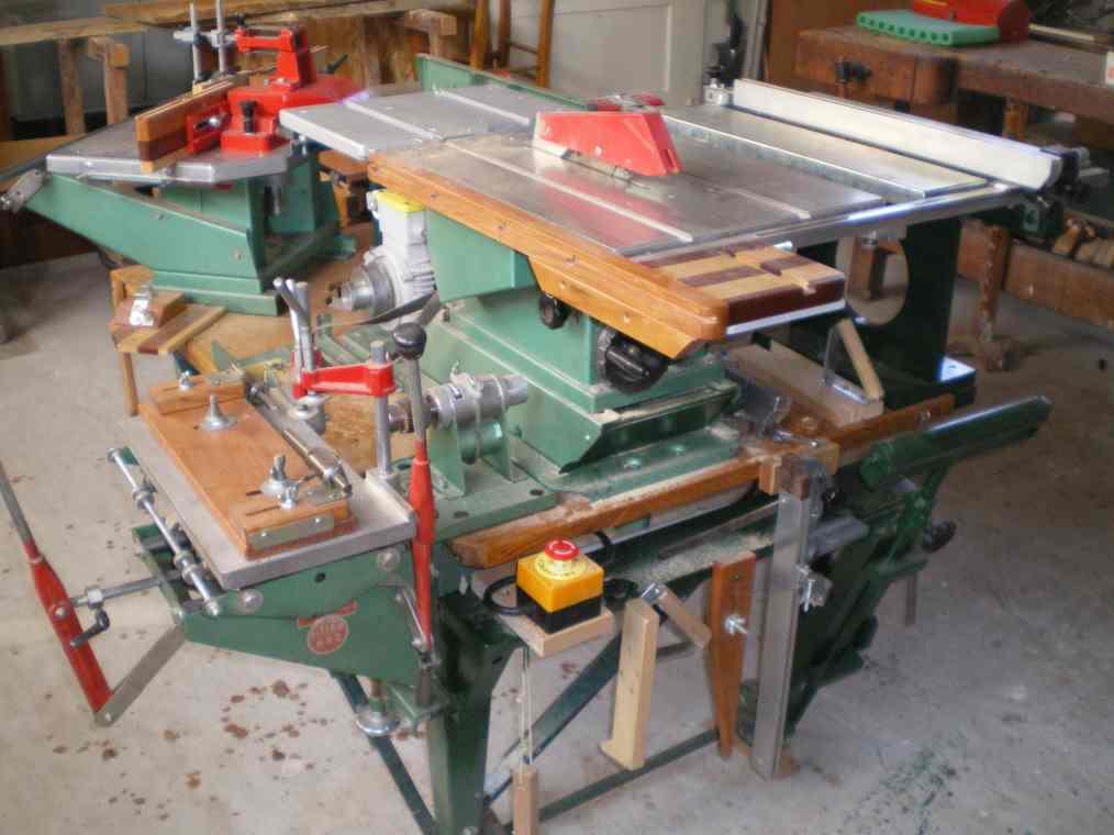 Installation d'un guide arrière et 2 butée sur mortaiseuse 652 Kity Imgp0065