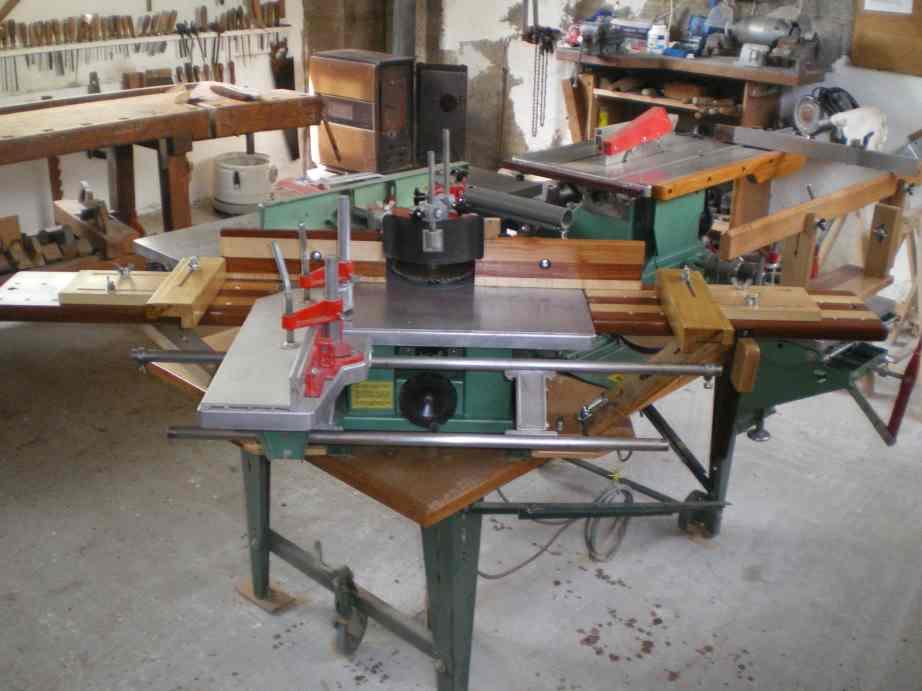 Rallonges de table pour la toupie KITY 627 Imgp0066