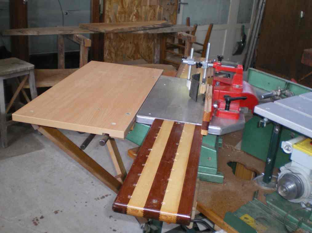 Rallonges de table pour la toupie KITY 627 Imgp0067