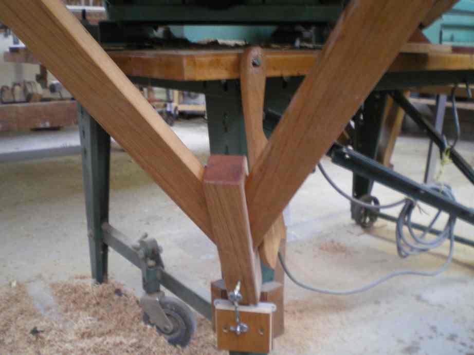 Rallonges de table pour la toupie KITY 627 Imgp0068