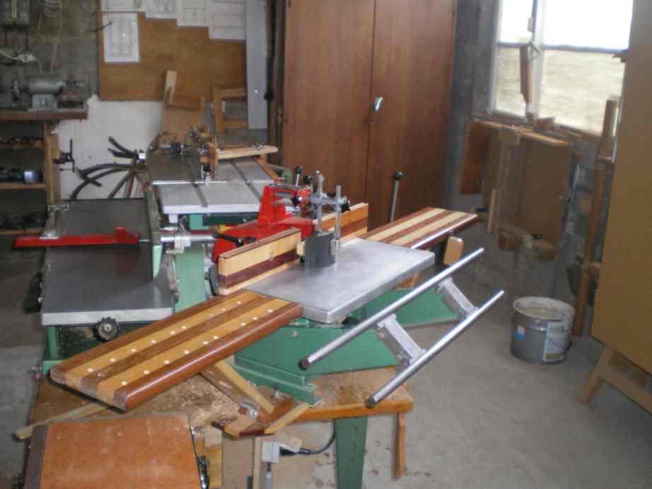 Rallonges de table pour la toupie KITY 627 Imgp0086