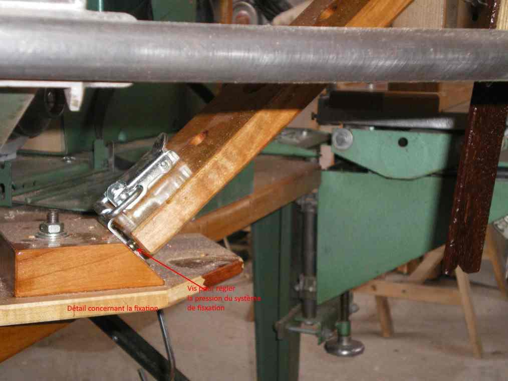 Rallonges de table pour la toupie KITY 627 Tov410