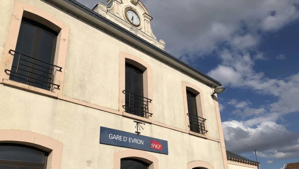Evron. le guichet de la gare vit ses dernières semaines 156d0110