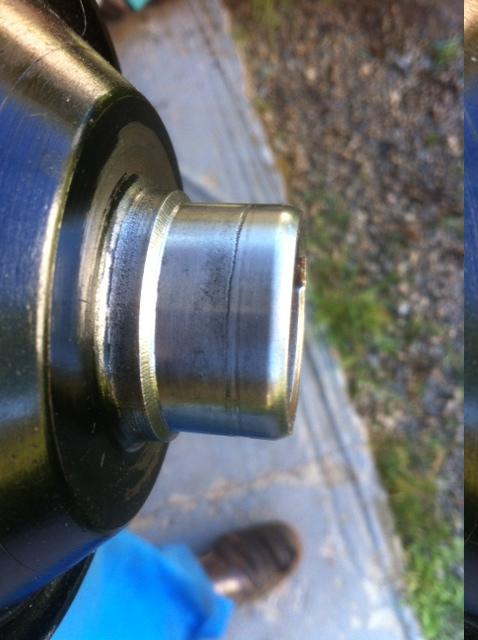 Mettre un Manchon sur une portée de joint spi endommagée : Rayure10