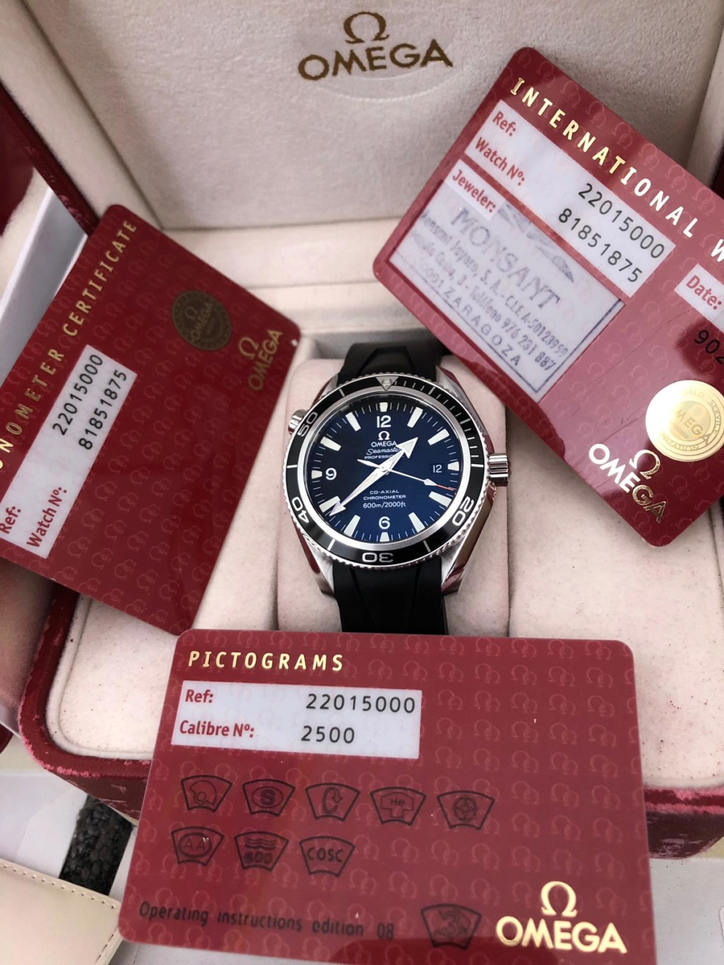 seamaster - [Vends] omega seamaster planet ocean 600m 42mm 6644bf10