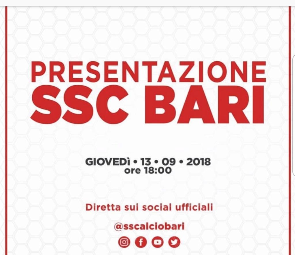 SSC Bari social 20180918