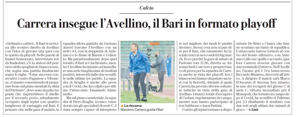 08 04 21  rep Bari in  formato playoff  Rep15