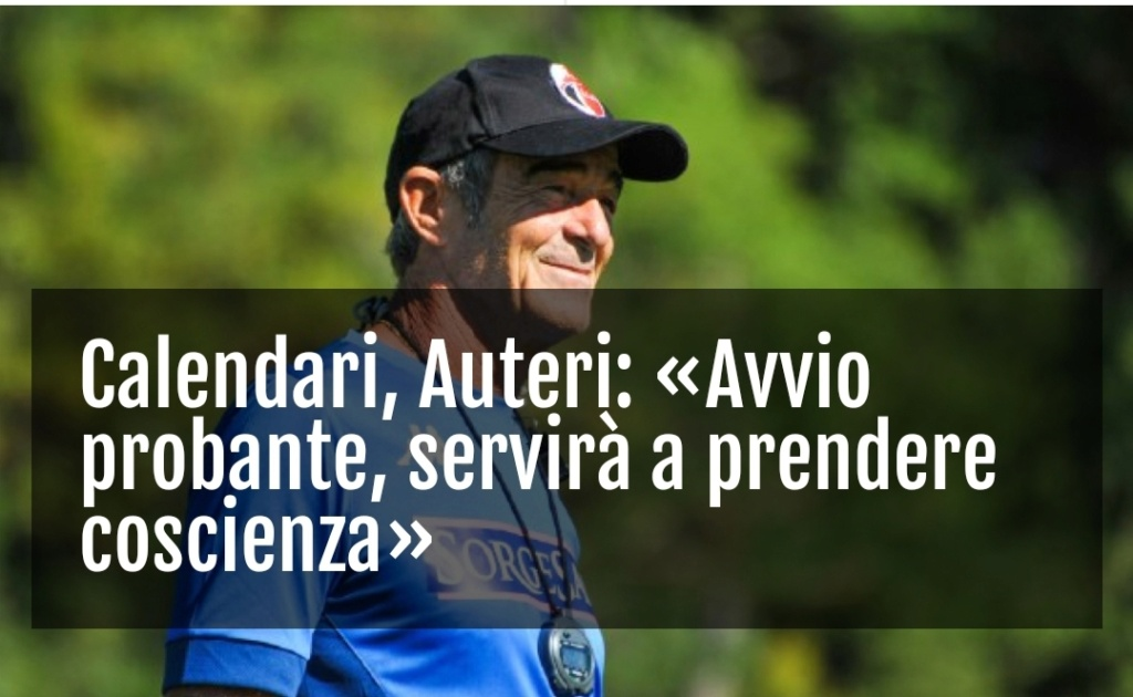 16/09/20 SSC BARI:Auteri  «Il calcio senza tifosi è diverso, a Bari ancor di più» Screen34