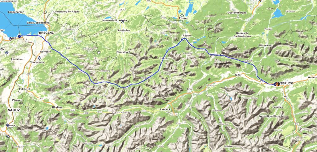 Le survol des Alpes 3° étape Carte_13