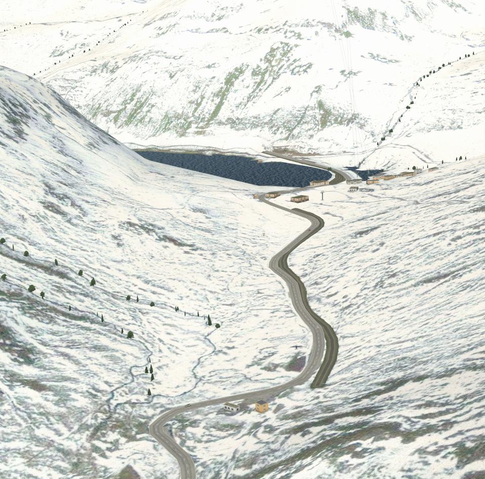 Le survol des Alpes 4° étape Le_lac10