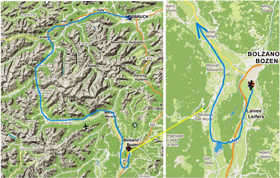 Le survol des Alpes 2° étape Les_ca10