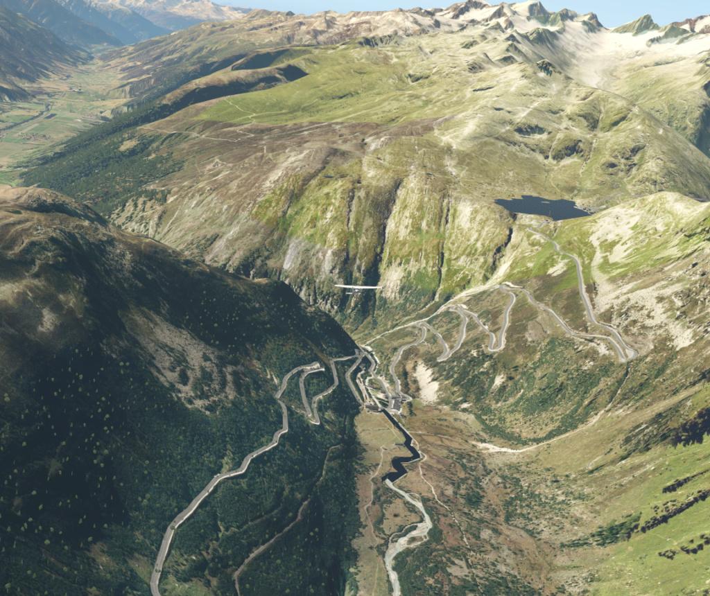 Le survol des Alpes 4° étape Passag10