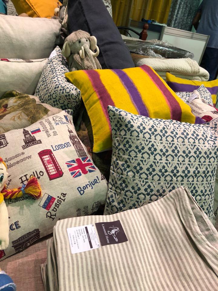 Льняные ткани и домашний текстиль 129