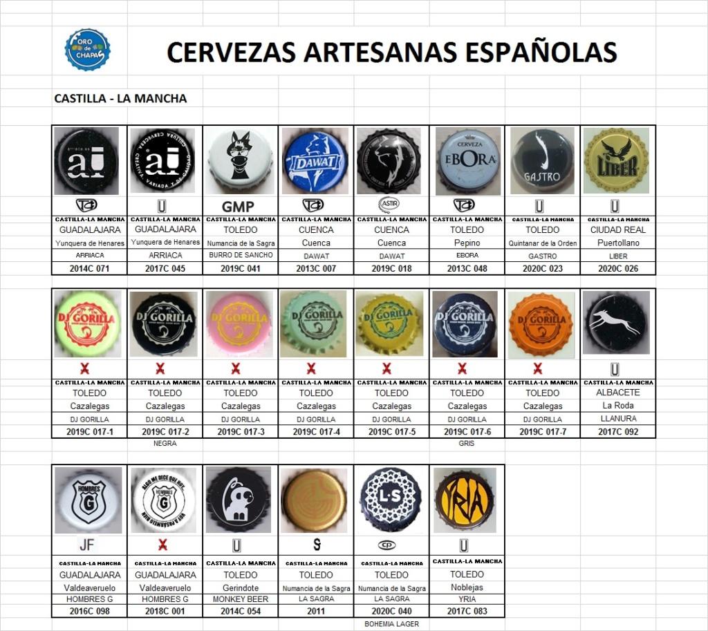 CATÁLOGO DE CERVEZAS ARTESANAS (CASTILLA - LA MANCHA) Castil18