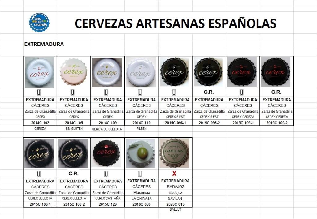CATÁLOGO DE CERVEZAS ARTESANAS (EXTREMADURA) Extrem10