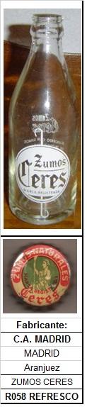 Envase R058 Zumos Ceres R058_z10
