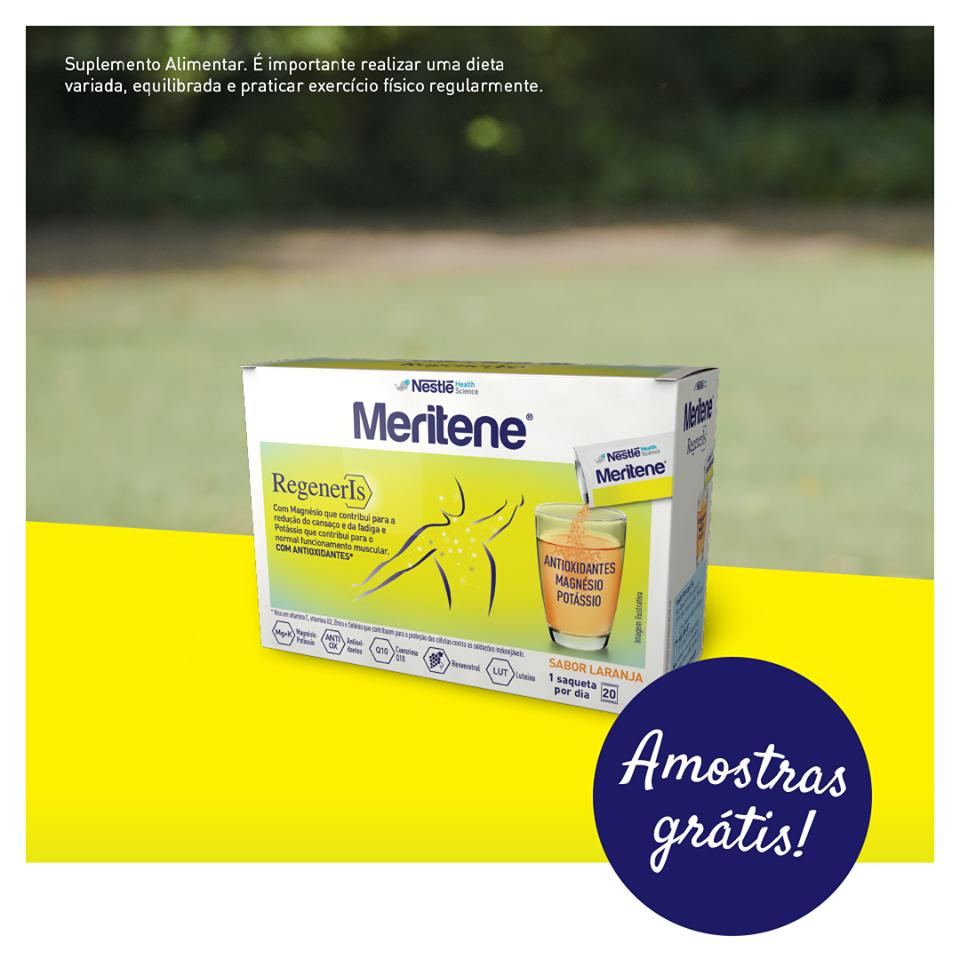 Amostra Meritene Regeneris-Saqueta mais vale de 3 Euros 38851710