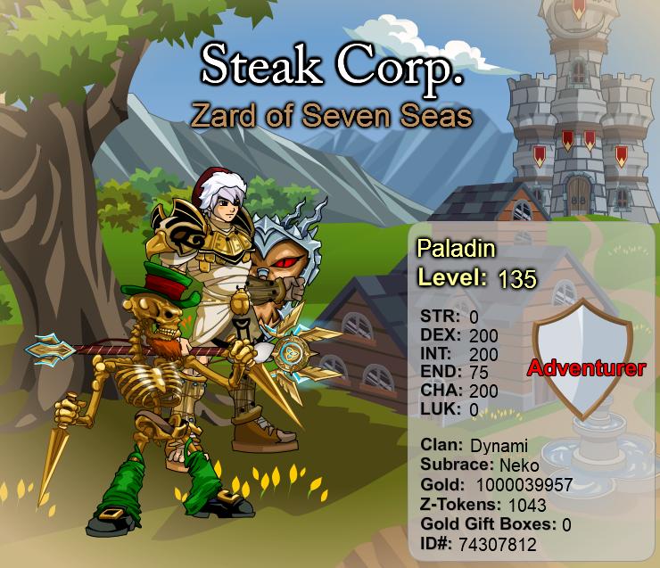 [AQ] Steak Corp. :: 1 000 000 000 GOLD !!! 1_000_10