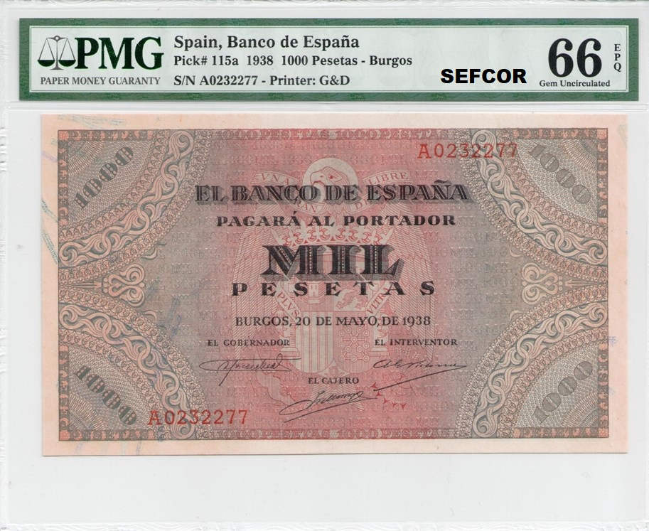 Colección de billetes españoles, sin serie o serie A de Sefcor - Página 4 32572310