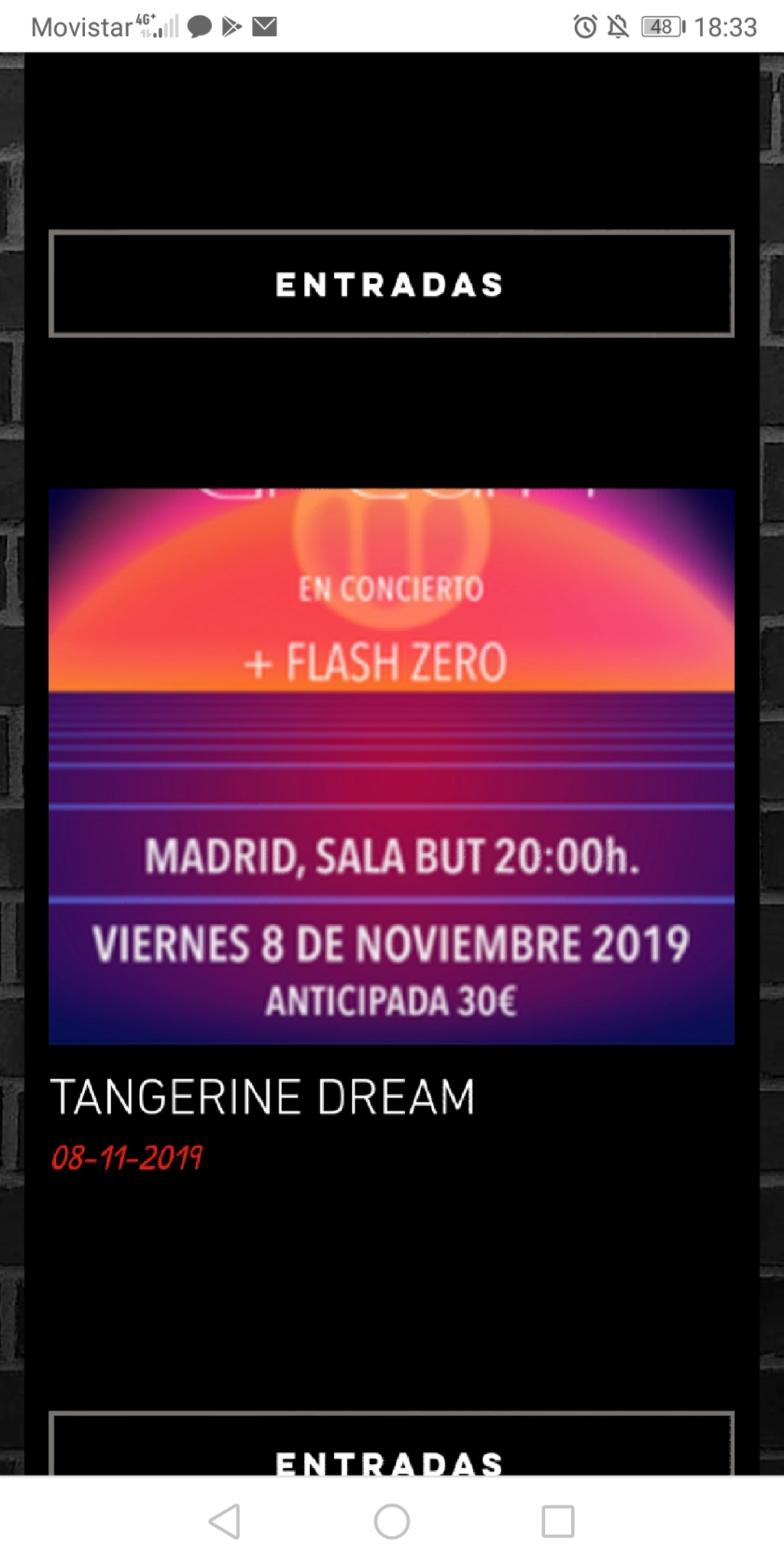 TANGERINE DREAM. Screen22